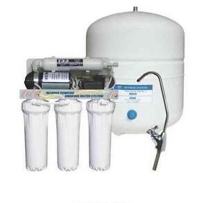 Depuratore acqua domestici prezzi osmosi inversa 6 stadi filtri lampada UV  eBay