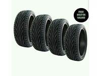 4 Toyo proxy tyres 215 45 17 new