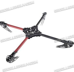 KK-MK-MWC-X525-V3-Quad-Copter-Folding-Frame-Friber-Glass-MultiCoptor-Red-Balck