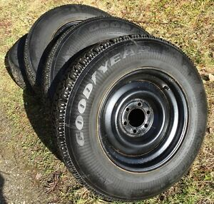 4 of P205/75-15 GoodYear Nordic Snow