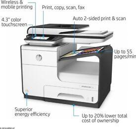 HP PageWide Pro 477dw Colour Ink‑jet printer.