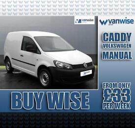 2014 Volkswagen Caddy 1.6 TDI 75PS Startline Van Diesel white Manual