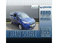 2015 Ford Transit Connect 1.6 TDCi 115ps Limited Van Diesel blue Manual