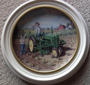 John Deer Collector Plate
