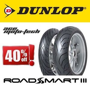 NEW Dunlop RoadSmart 3 - HIGH MILEAGE Introductory SALE PRICING