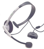 360 MICROSOFT CHAT HEADSET & DVD REMOTE - USED - MINT CONDITION