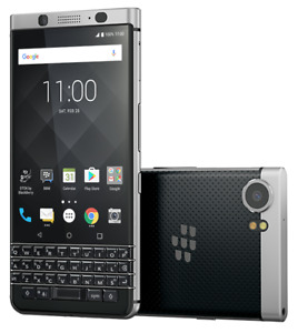 Blackberry Keyone BBB100-1 Black and Silver
