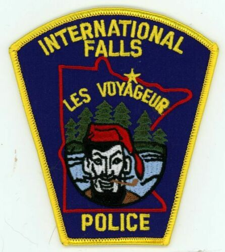 INTERNATIONAL FALLS POLICE MINNESOTA MN NEW PATCH SHERIFF