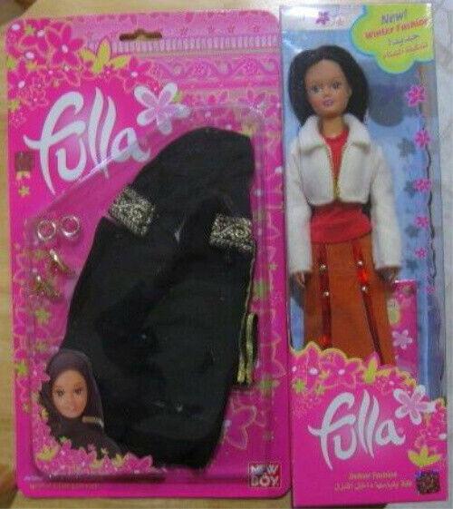 Fulla Doll Limited Edition With No Longer Produced Hijab Abaya Bangles Shoes Set