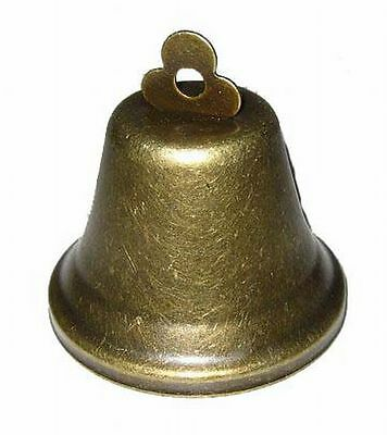 Original Steiff Zubehör große Glocke aus Metall ca. 6cm hoch