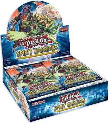 YuGiOh Spirit Warriors Booster Box [24 Packs] [Sealed]