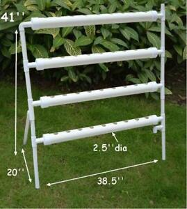 Hydroponic Site Grow Kit 36 Deep Water Culture Garden With Pump 141112