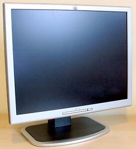 "HP 20"" 1600 x 1200 Resolution LCD Flat Panel Monitor"