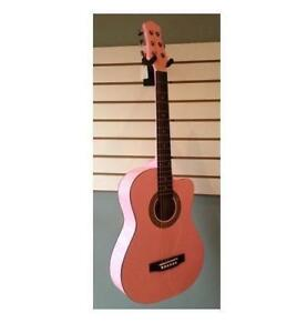 Promotion! 36 ACOUSTIC GUITAR CUTAWAY W/6MM GUITAR BAG (FREE SHIPPING ON ORDERS OVER $125.00)
