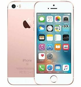 Apple iPhone SE - 16 GB, Rose Gold, Unlocked Smartphone.