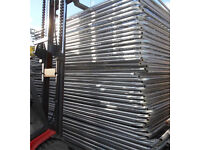 HERAS TEMPORARY SECURITY FENCE PANELS ~ NEW 🔩
