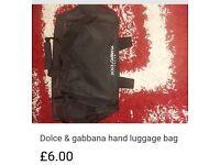 Dolce & gabbana hand luggage bag