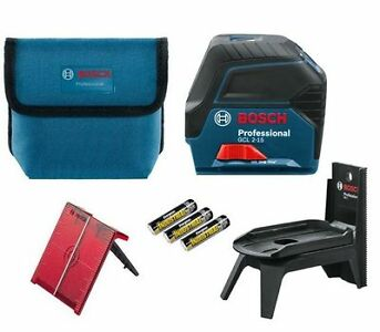 Bosch Kreuzlinienlaser GCL 2-15 Professional inkl. Multifunktionshalterung RM 1