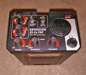 Minelab Sovereign XS-2a PRO with two coils