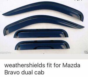 Mazda Bravo B2500 Weathershields Newcastle Newcastle Area Preview