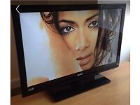 """BUSH 40"""" LED TV 6 months old usb playback full hd possible delivery."""