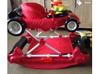 Car baby walker/rocker