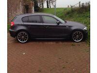 BMW 1 SERIES 1.6 litre,2006 , Custom Alloys.( NEEDS REPAIRING )