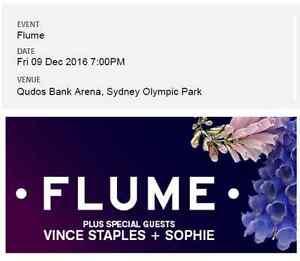 2 FLUME tickets Syd Fri 9 DEC Sydney City Inner Sydney Preview