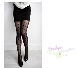 Women Big Polka Dot Pantyhose Stocking tights Leggings Hosiery Lingerie Socks