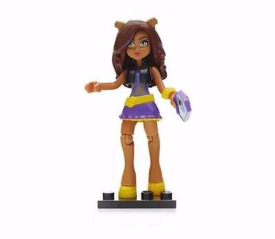 Mega Bloks Monster High Collection 3 Clawdeen- Free Shipping
