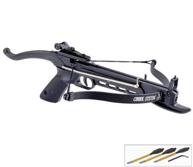 MINI 80 LB SELF COCKING PISTOL CROSSBOW W/ BOLTS ARROWS Hunting Archery Gun  - $28.99