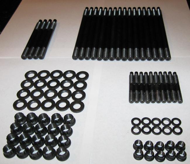 Qauick Cylinder Head Stud Kit for Chevy LS1 LS6 LS2 1997-2003 4.8L 5.3L 5.7L 6.0L 33380 LQ9
