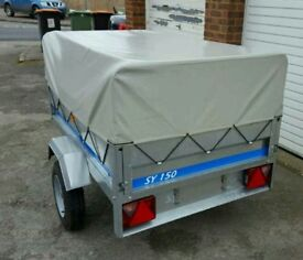Erde SY150 Trailer with all extras