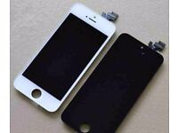 full screen iphone 5 (c,s), 6(s) ,7 for sale brand new black or white