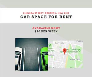 car space for rent Chelsea str Redfern 2016 Redfern Inner Sydney Preview