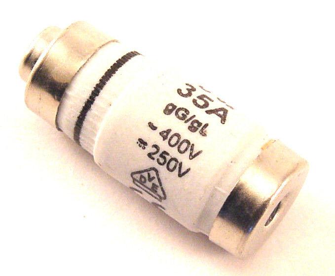 Fuse, 35 Amp, Neozed, DOZ18G35, Stock 180-020