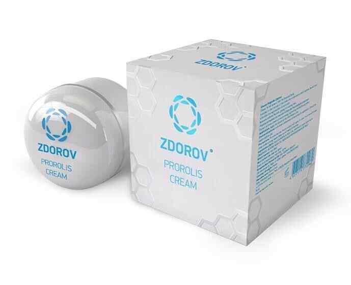 (111,67€/100g)  Zdorov Anti-Falten Propolis Creme 30g