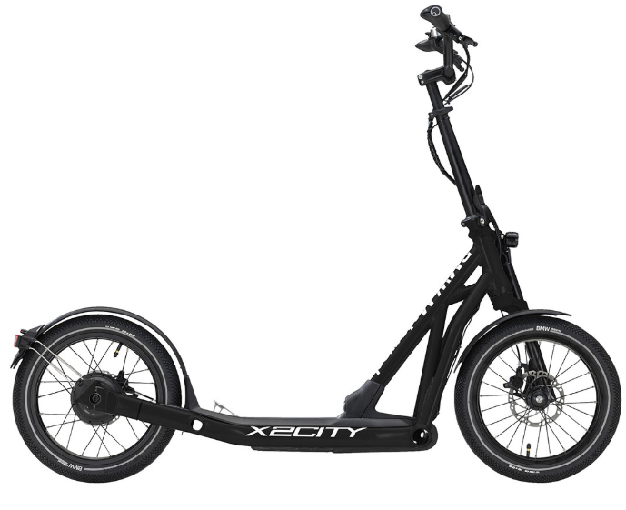 BMW X2City Schwarz E-Scooter 76799444572