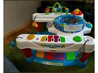 Fisherprice Step N Play Piano activity centre