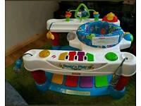 Fisherprice step n play piano