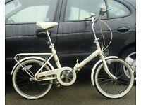 Raleigh Fold up bike, 1988