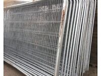 💥Used Security Heras Fencing Panels