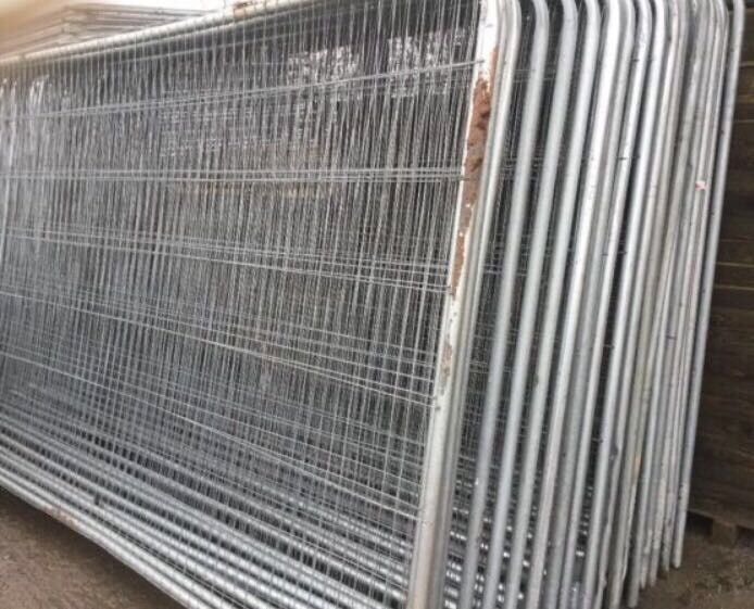 👑Security Heras Used High Quality Fencing Panels • HeavyDuty used