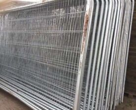 🌷Used Heras Fencing * Set Of 50