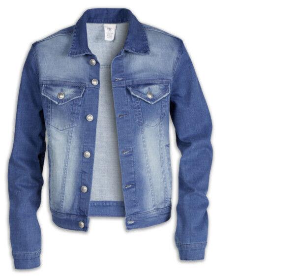 True Style Damen Jeans Jacke L 42 Fashion Kleidung Frauen used Look Stretch