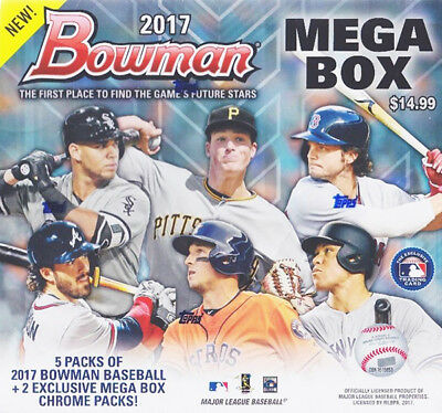 1 2018 BOWMAN MEGA BOX SEALED TARGET EXCLUSIVE SOTO OHTANI ACUNA ALBIES QTY