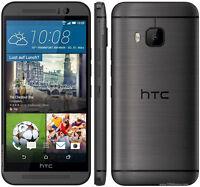 HTC M9 Gun metal with HTC Dot View Ice