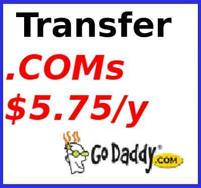 Unlimited  Godaddy  Com  Net Domain Name Transfers For  5 75 Year
