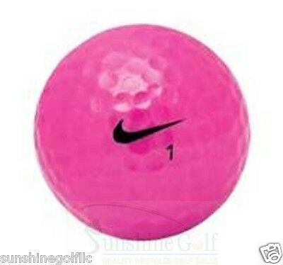 24 AAA Nike PD Power Distance Women Pink Used Golf Balls (3A) - FREE SHIPPING](Golf Balls Pink)