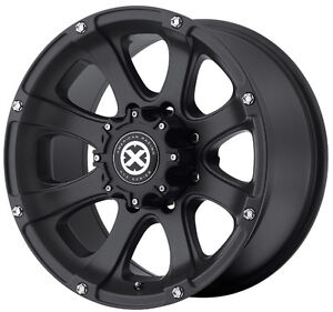 AMERICAN-RACING-17X8-ATX-LEDGE-ALLOY-MAG-WHEEL-4X4-JEEP-WRANGLER-GRAND-CHEROKEE